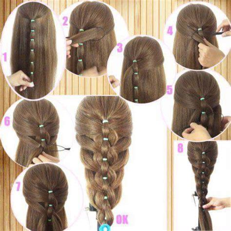 step by step easy hairstyles for girls step by step ideas