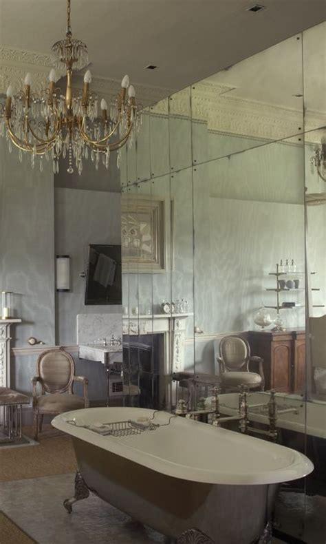 Mirror Tiles In Bathroom by Antiqued Mirror Glass Mirror Cladding Walls Between
