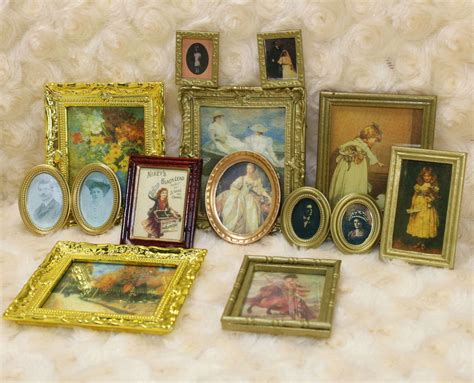 Ebay Home Decorative Items by 1 12 Dollhouse Miniature Framed Wall Painting Home Decor