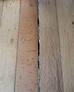 Wood floor boards separating gurus floor for How to fix gaps in hardwood floors