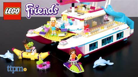 Catamaran Lego Friends by Lego Friends Sunshine Catamaran From Lego Youtube