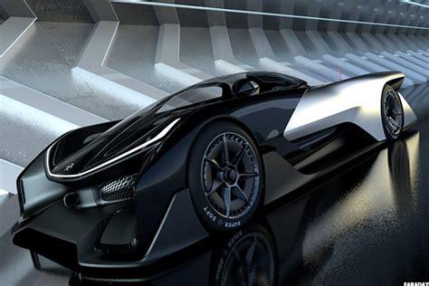 faraday futures  car    batmobile