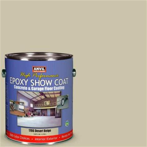 anvil1 gal desert beige epoxy show coat interior exterior