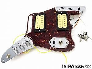 Fender Kurt Cobain Jaguar Loaded Pickguard Pickups