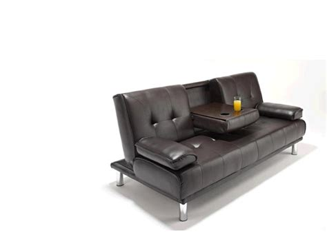 sofa with cup holders sofa bed with cup holder arm rest 61 off