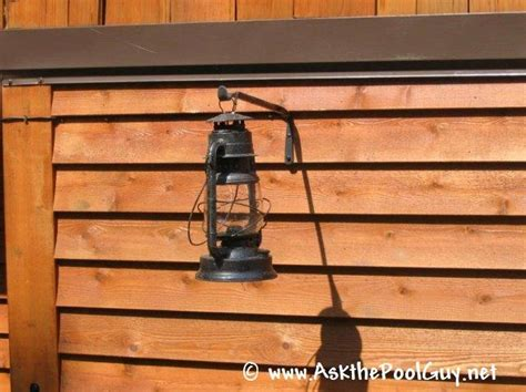 antique barn lantern converted to low voltage lighting