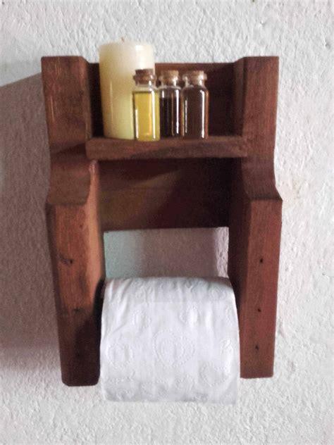 pallet toilet paper holder  pallets