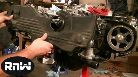 Subaru Timing Belt Replacement Sohc Part Youtube