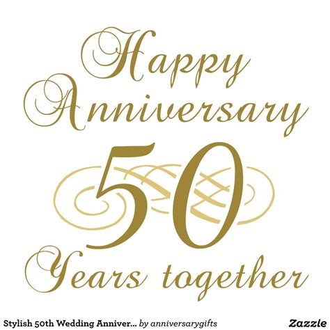 50th anniversary happy 50th wedding anniversary clipart