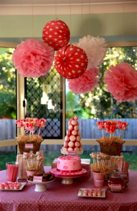 table decoration ideas for parties 1st birthday decoration ideas at home for party favor
