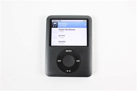 car audio equipment apple ipod mini a1236 8gb property room