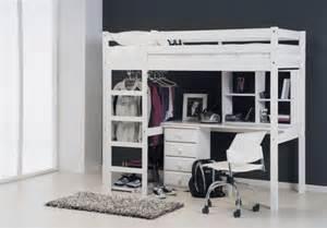 lit superposé avec bureau le lit mezzanine ou le lit supersposé quelle variante
