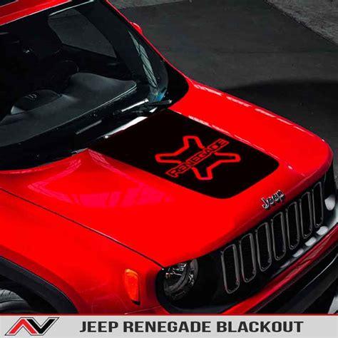 jeep renegade custom blackout alphavinyl