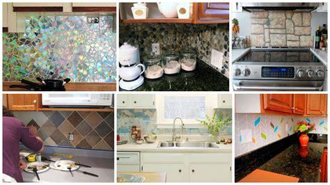 diy quot renters quot backsplash 16 inexpensive easy diy backsplash 28 images easy kitchen backsplash ideas 28 images kitchen