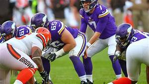 Makeshift Offensive Line Powers Through In Vikings Victory