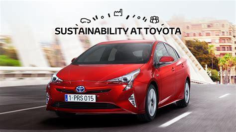 sustainability  toyota toyota motor europe