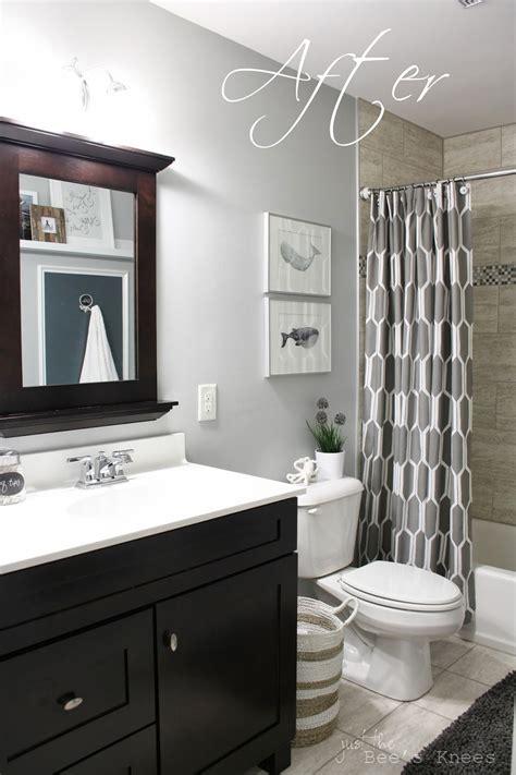 grey bathroom ideas accent walls favorite paint colors