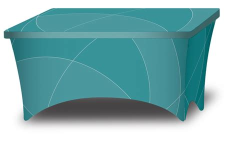 tension fabric table covers tension cover all display products