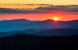 Clingmans Dome Sunset - Great Smoky Mountains landscape ...