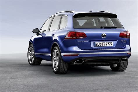 volkswagen touareg launched  germany  tdi