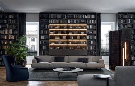 modern homes interiors sofas poliform tribeca