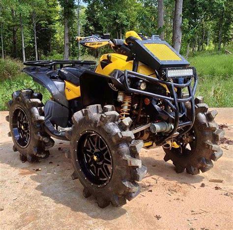 mudding four wheelers can am 4x4 mud bog custom quad atv pinterest 4x4