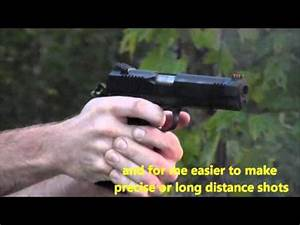 Glock 21 SF vs. Remington R1 enhanced 1911, recoil ...