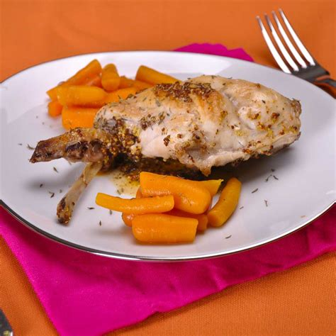 cuisiner le lapin à la moutarde le lapin à la moutarde de bernard loiseau une recette