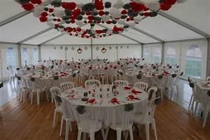 Décoration Mariage Rouge Et Blanc : decoration mariage rouge blanc et argent mariage toulouse ~ Melissatoandfro.com Idées de Décoration