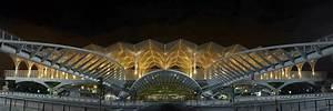 An Architect Is Designing An Atrium For A Hotel Santiago Calatrava