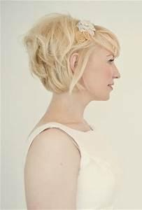 Accessoires Cheveux Courts : coiffure mariage cheveux courts 2017 ~ Preciouscoupons.com Idées de Décoration