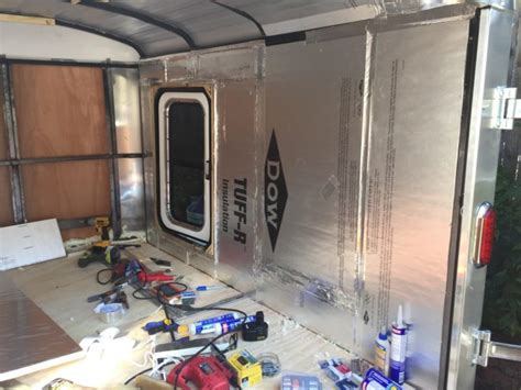 Man Transforms New Cargo Trailer Into An Epic Camper