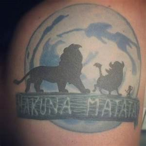 Hakuna Matata ; Lion King Tattoo | Tattoos | Pinterest