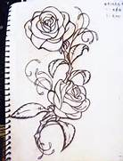 My Roses tattoo by LO-...