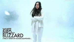White bird in a blizzard - citycampus