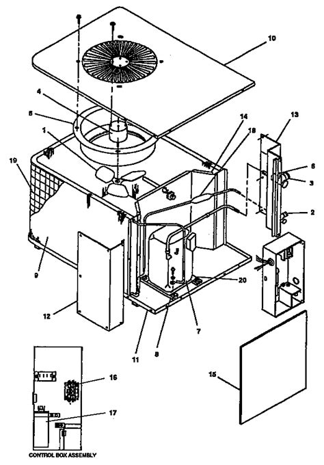 goodman condensing unit parts model cx sears