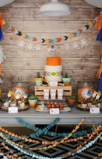 Tribal Theme Baby Shower Ideas