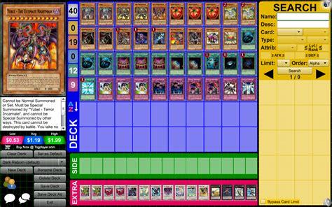 dark reborn yubel s deck pojo com forums