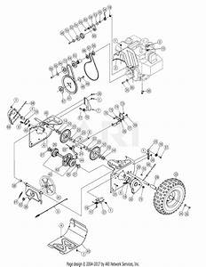 Mtd 31ae5klf795  2006  Parts Diagram For Drive Assembly