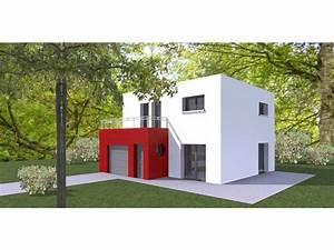 modele maison cubique elegant cubique cube une maison With attractive plan de maison cubique 15 maison plein pied moderne mc immo