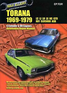 Holden Torana Lu Lj Lh Lx Xu-1 Workshop Repair Manual