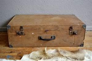 Valise En Bois : valise aliette l 39 atelier belle lurette r novation de meubles vintage ~ Teatrodelosmanantiales.com Idées de Décoration