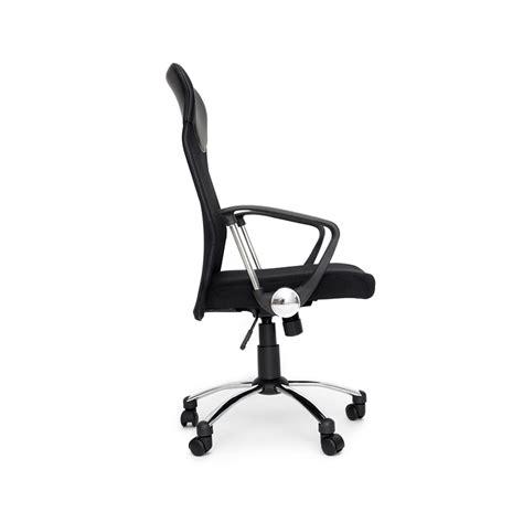 air siege plus air plus fauteuil de bureau siège en tissu inclinable noir