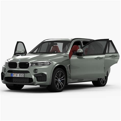 Bmw X5 Models by Bmw X5 M 2016 3d Model Max Cgtrader
