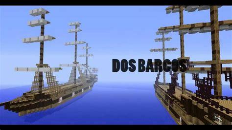 Imagenes De Barcos En Minecraft by La Batalla Entre Barcos Minecraft Mapa Youtube