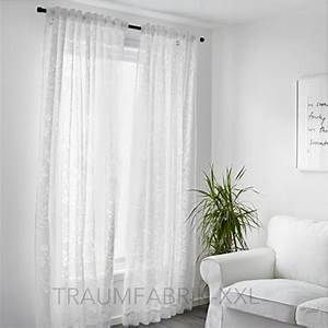 Graue Vorhänge Ikea : ikea borghild 2x gardinenstore paar wei je 145x300cm ~ Michelbontemps.com Haus und Dekorationen