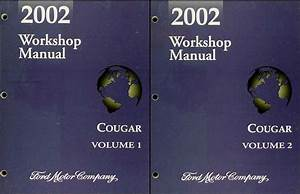 2002 Mercury Cougar Service Shop Repair Manual Set Oem 2 Volume Service Manual Set And The Wiring Diagrams 24573 Getacd Es