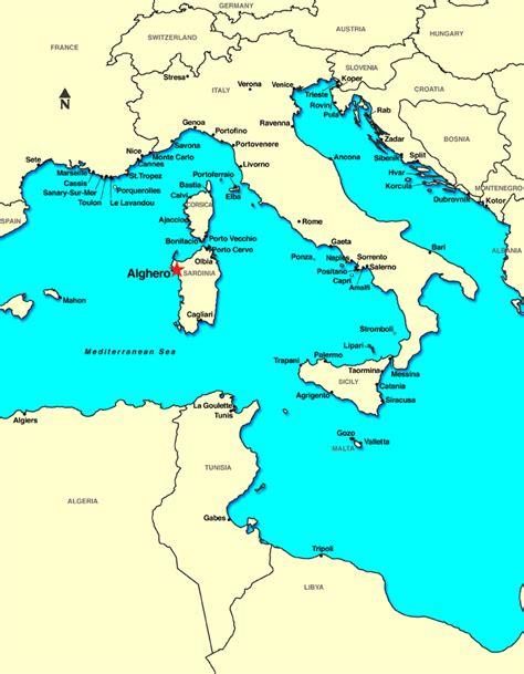 med siege lyon alghero sardaigne italie remise croisières croisières