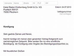 Mein Kabel Deutschland Rechnung : kabel bw k ndigung vorlage download chip ~ Themetempest.com Abrechnung