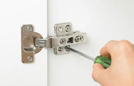 adjusting kitchen cabinet hinges home dzine kitchen how to adjust concealed cabinet hinges 3997